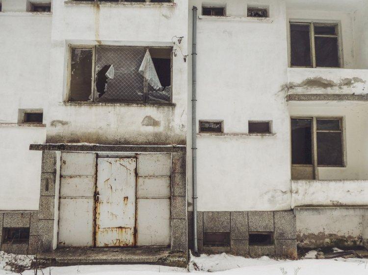 Шешкинград -  изоставеното миньорско селище