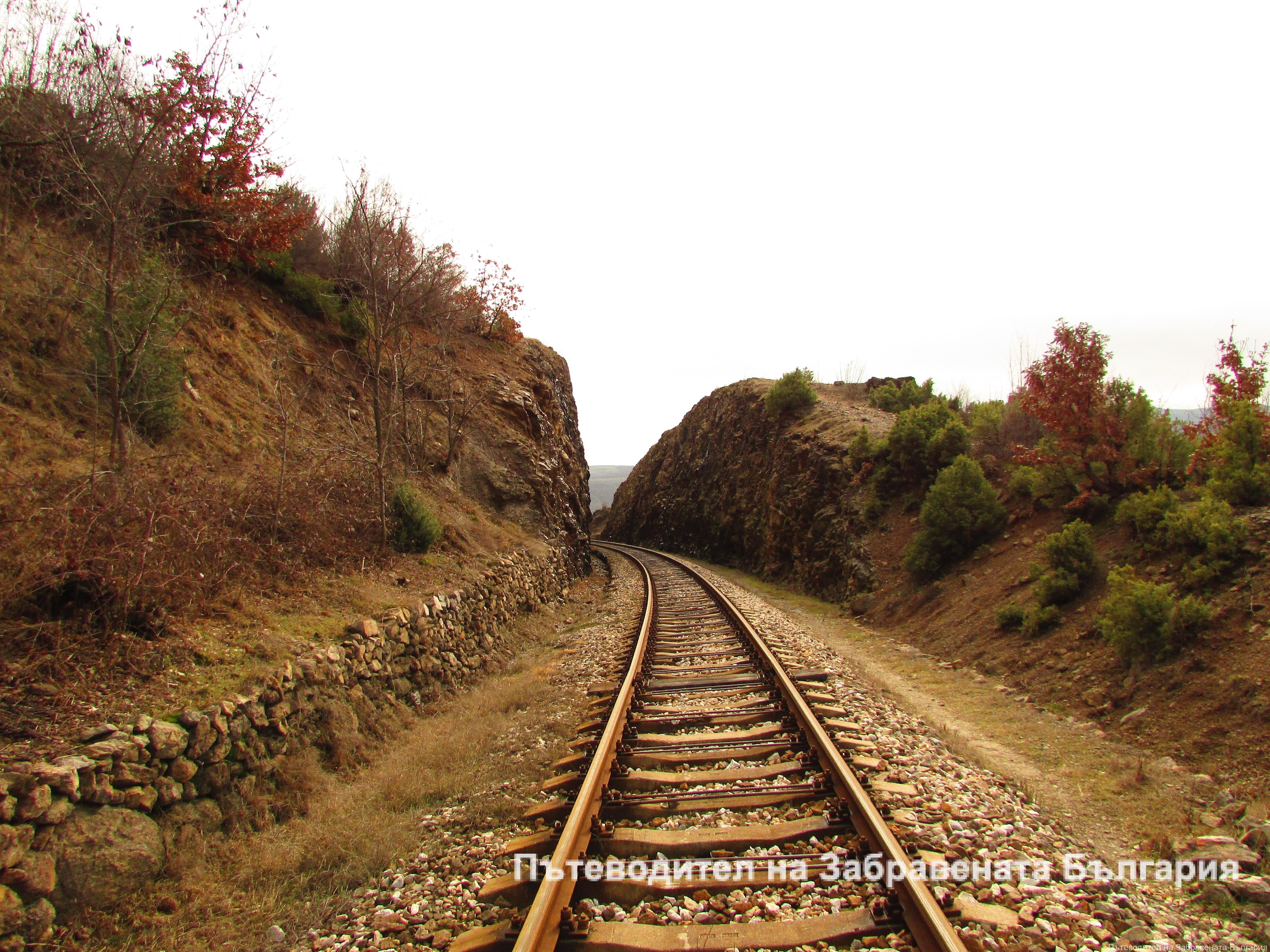 Железните пътища на България
