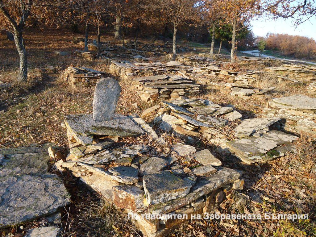 Гробища от късното Възраждане край с. Планинец