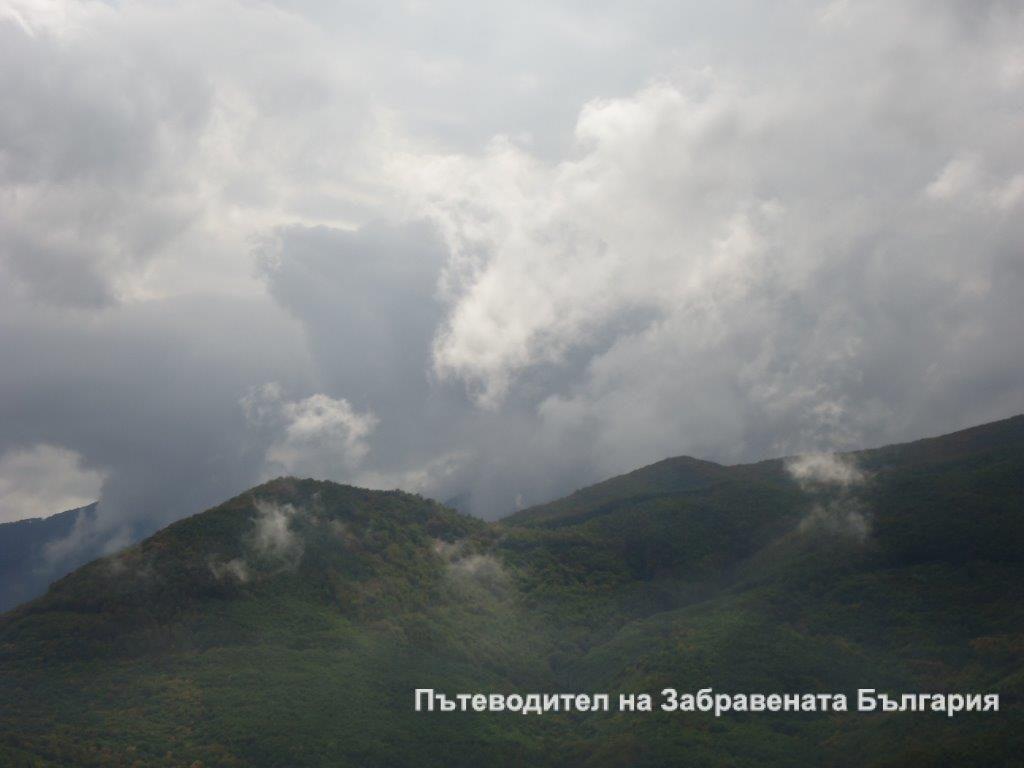 Минути преди супер бурята, която ни сполетя на границата с Гърция, с. Мочуре, 2012