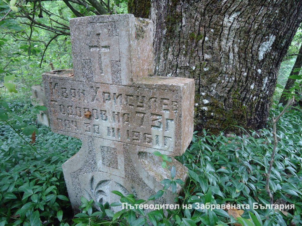 Снимки от старото гробище край село Сливарово - най-дивата територия на Странджа планина.