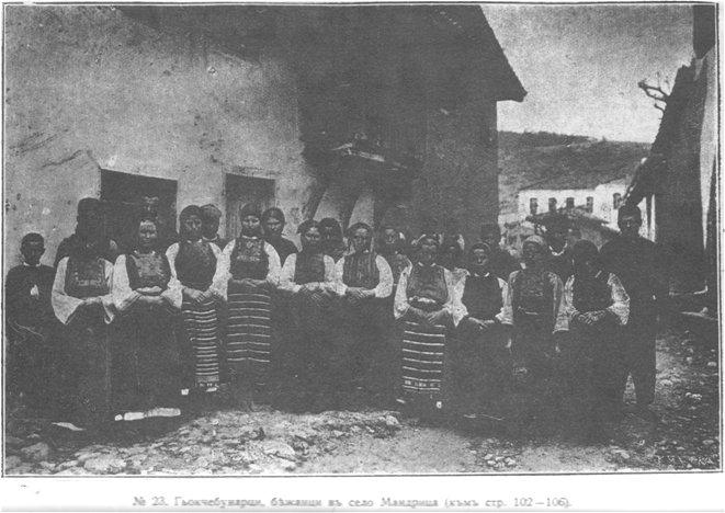 № 23. Гьокчебунарци, бѣжанци въ село Мандрица (към стр. 102-106).
